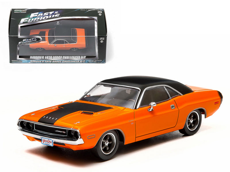 "Darden - BeTovi&cos 1970 Dodge Challenger R/T  Fast 2 Furious"" Movie (2003) 1/43 Diecast Car Model by Greenlight"" - BeTovi&co"