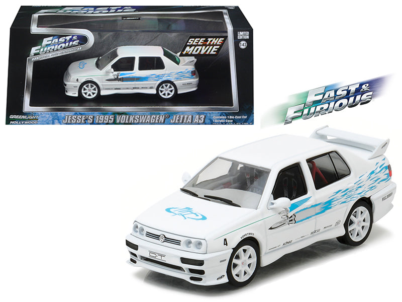 Jesse's 1995 Volkswagen Jetta A3 'The Fast and The Furious' Movie (2001) 1/43 Diecast Model Car by Greenlight - BeTovi&co