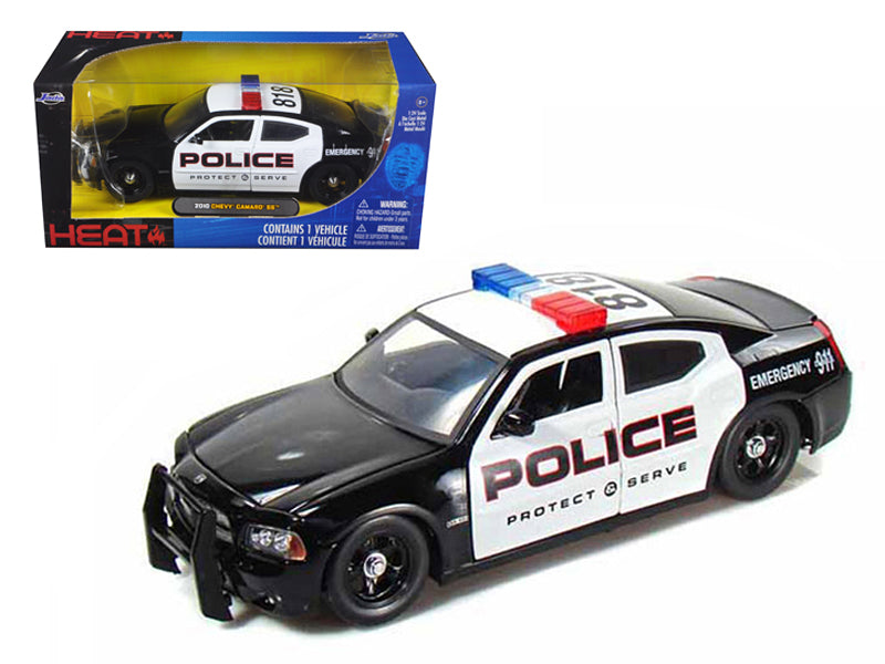 2006 Dodge Charger R/T Highway Patrol With Stock Wheels 1/24 Diecast Model Car by Jada - BeTovi&co