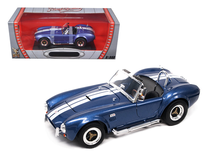 1964 Shelby Cobra 427 S/C Blue 1/18 Diecast Car by Road Signature - BeTovi&co