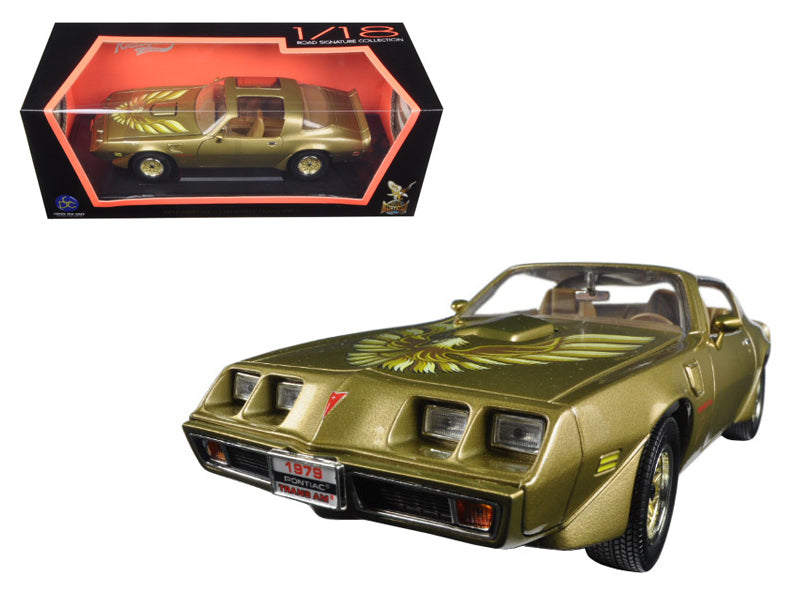 1979 Pontiac Firebird Trans Am Gold 1/18 Diecast Model Car by Road Signature - BeTovi&co