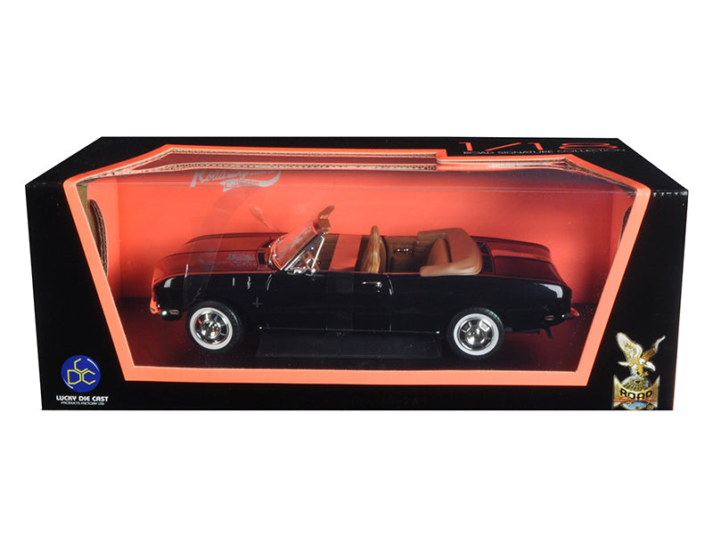 1969 Chevrolet Corvair Black 1/18 Diecast Model Car by Road Signature - BeTovi&co