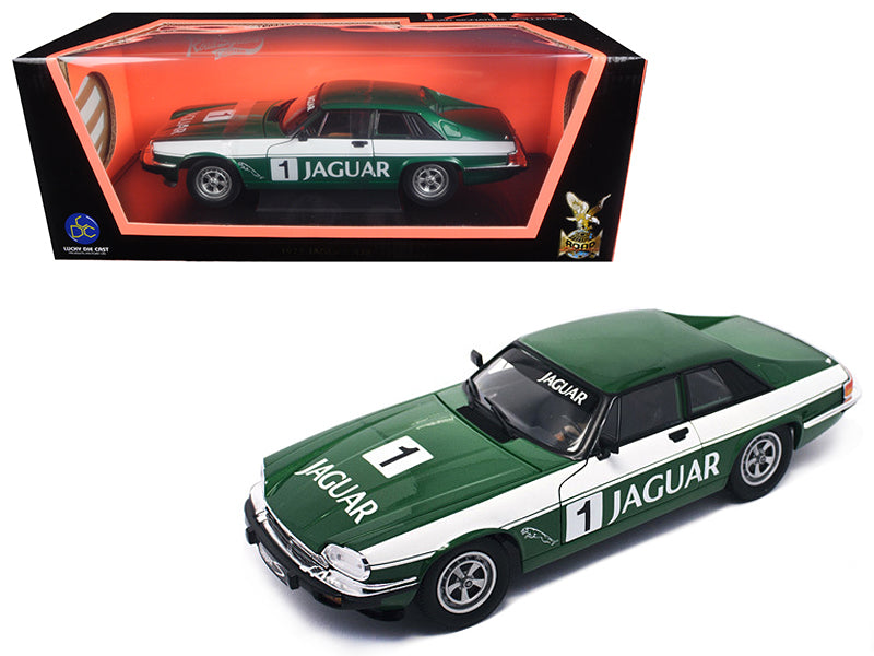 1975 Jaguar XJS Coupe Racing Green #1 1/18 Diecast Model Car by Road Signature - BeTovi&co