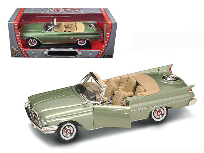 1960 Chrysler 300F Green 1/18 Diecast Car Model by Road Signature - BeTovi&co