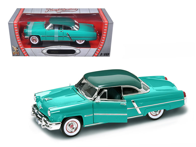 1952 Lincoln Capri Green 1/18 Diecast Model Car by Road Signature - BeTovi&co