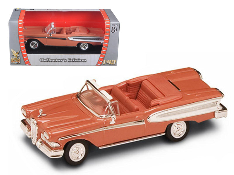 1958 Edsel Citation Brown 1/43 Diecast Car by Road Signature - BeTovi&co