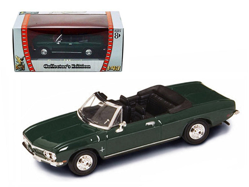 1969 Chevrolet Corvair Monza Green 1/43 Diecast Model Car by Road Signature - BeTovi&co