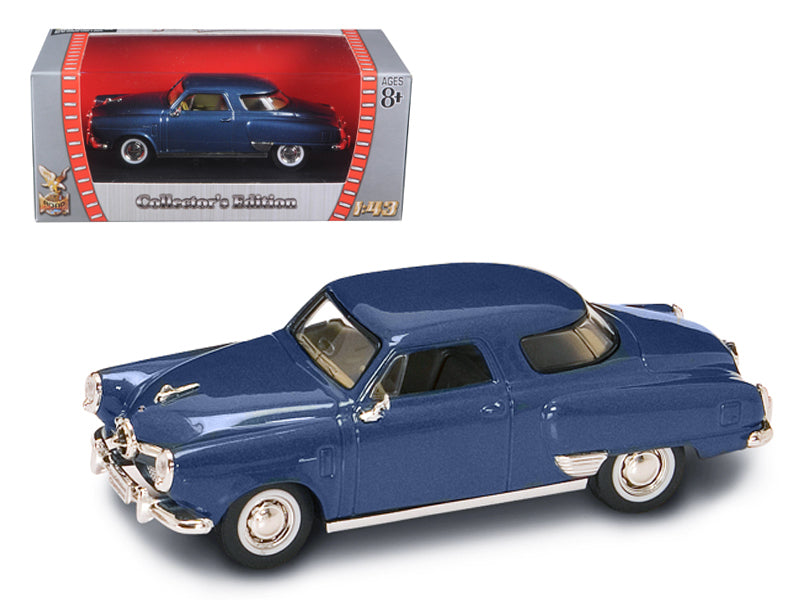 1950 Studebaker Champion Blue 1/43 Diecast Car by Road Signature - BeTovi&co