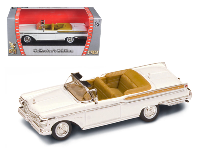 1957 Mercury Turnpike Cruiser White 1/43 Diecast Model Car by Road Signature - BeTovi&co