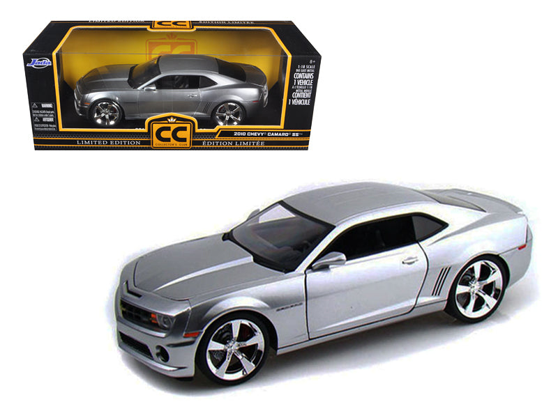 2010 Chevrolet Camaro SS Diecast Car Model Silver 1/18 Diecast Model Car by Jada - BeTovi&co