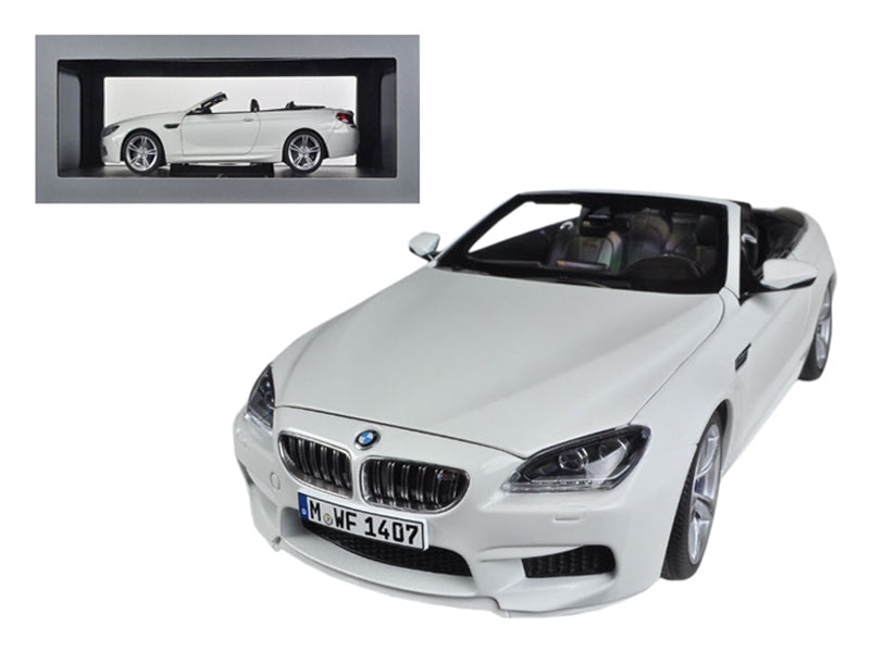 BMW M6 F12M Convertible Alpine White 1/18 Diecast Car Model by Paragon - BeTovi&co