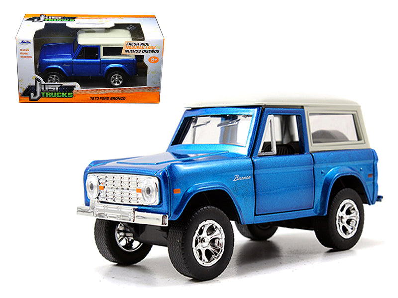 1973 Ford Bronco Blue 1/32 Diecast Model Car by Jada - BeTovi&co