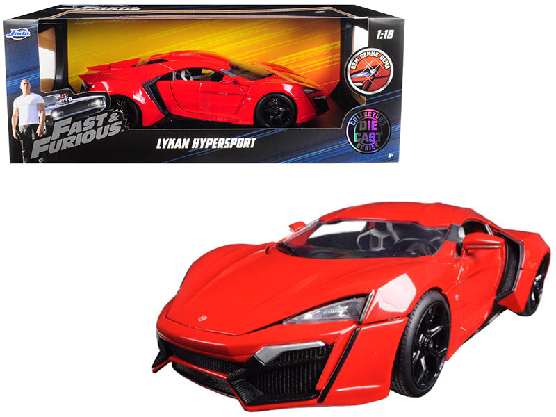 Lykan Hypersport Red Fast & Furious 7