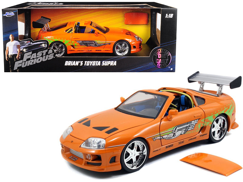 Toyota Supra Orange