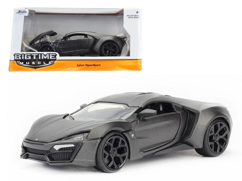 Lykan Hypersport Primer Gray 1/24 Diecast Model Car by Jada - BeTovi&co