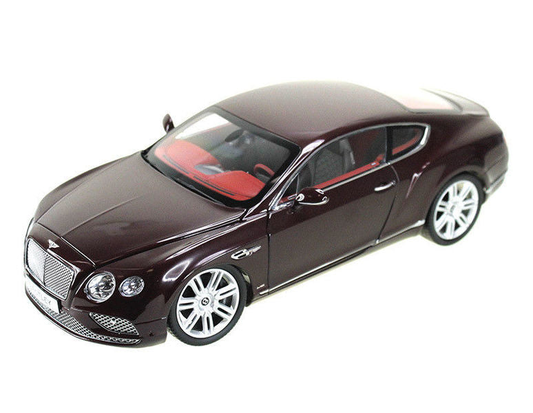 2016 Bentley Continental GT LHD Burgundy 1/18 Diecast Model Car by Paragon - BeTovi&co