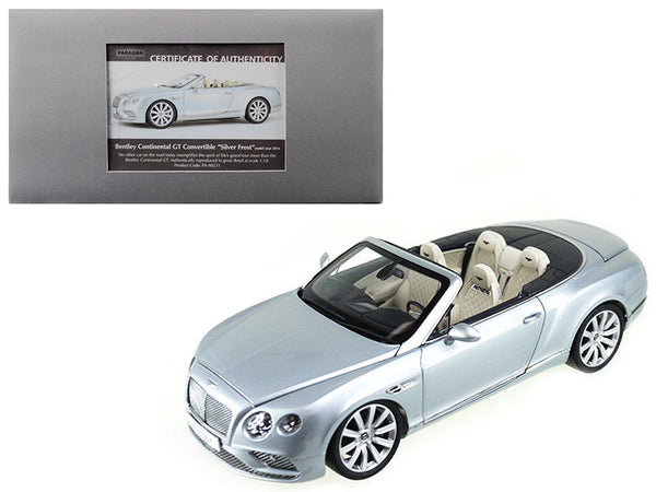 2016 Bentley Continental GT Convertible Silver Frost