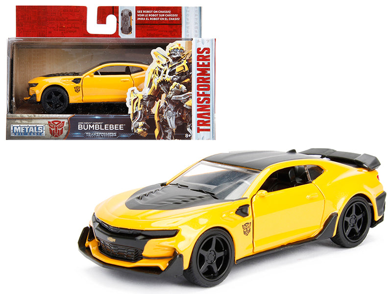 2016 Chevrolet Camaro Bumblebee Yellow From 'Transformers 5' Movie 1/32 Diecast Model Car by Jada - BeTovi&co