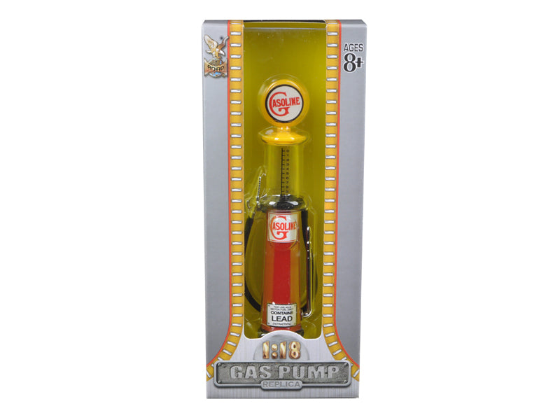 Gasoline Vintage Gas Pump Cylinder 1/18 Diecast Replica by Road Signature - BeTovi&co