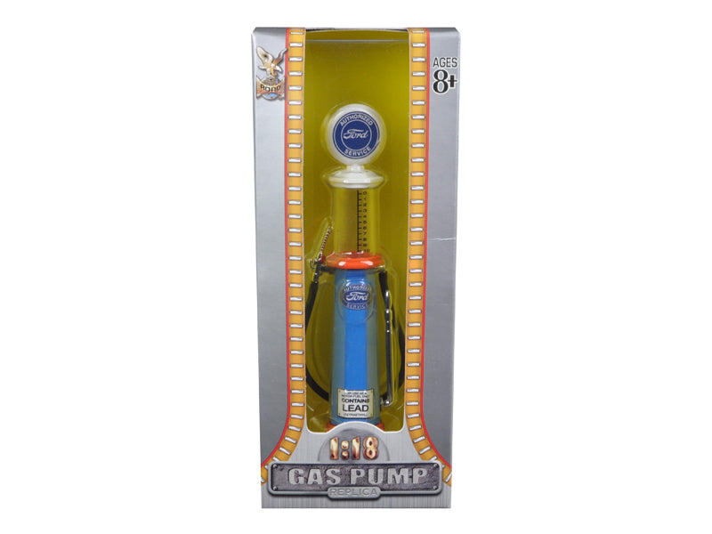 Ford Gasoline Vintage Gas Pump Cylinder 1/18 Diecast Replica by Road Signature - BeTovi&co