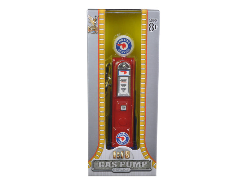 Pontiac Vintage Gas Pump Digital 1/18 Diecast Replica by Road Signature - BeTovi&co