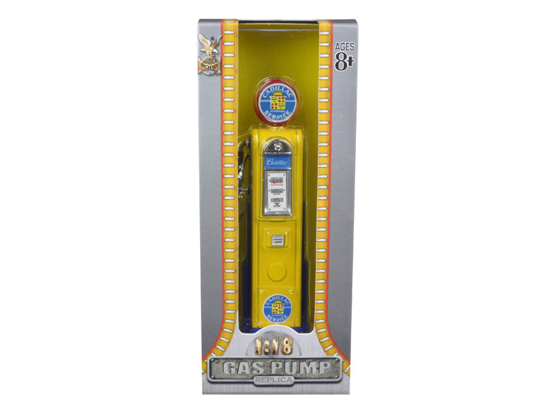 Cadillac Gasoline Vintage Gas Pump Digital 1/18 Diecast Replica by Road Signature - BeTovi&co