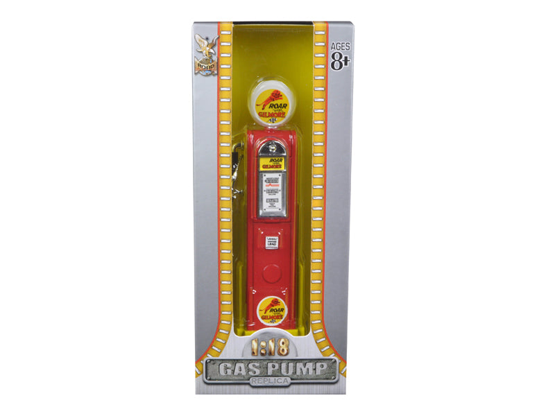 Roar Gilmore Gasoline Vintage Gas Pump Digital 1/18 Diecast Replica by Road Signature - BeTovi&co
