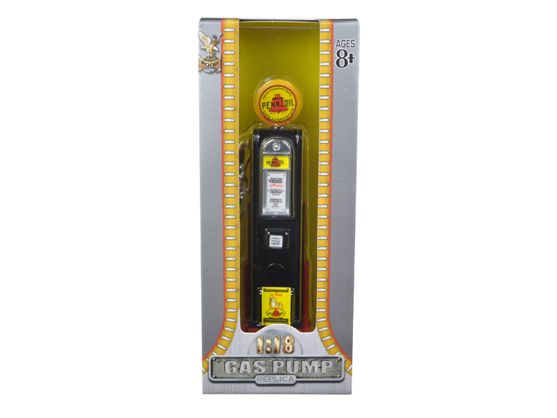 Pennzoil Gasoline Vintage Gas Pump Digital 1/18 Diecast Replica by Road Signature - BeTovi&co