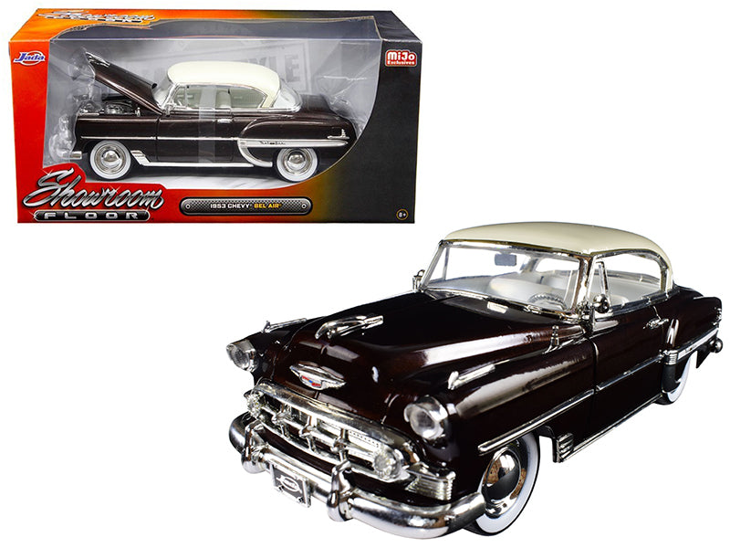 1953 Chevrolet Bel Air Brown 'Showroom Floor' 1/24 Diecast Model Car by Jada - BeTovi&co