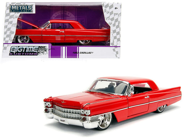 1963 Cadillac Red 1/24