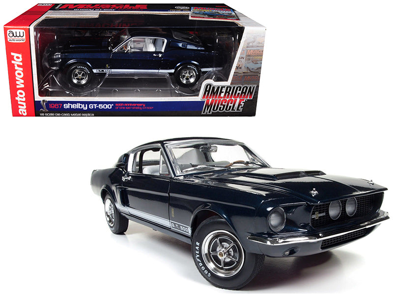 1967 Ford Shelby Mustang GT 500 2+2 Nightmist Blue Metallic