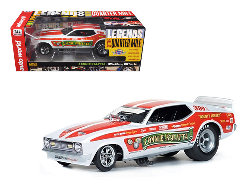 "1972 Ford Mustang Connie Kalitta \Bounty Hunter"" NHRA Funny Car 1/18 Model Car by Autoworld"" - BeTovi&co"
