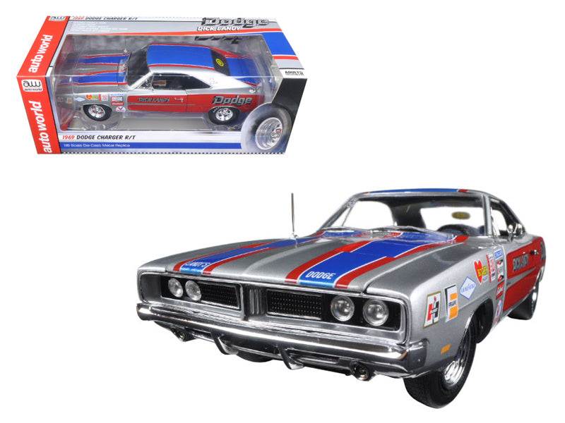 1969 Dodge Charger R/T 426 HEMI Dick Landy Limited Edition to 1002pcs  1/18 Diecast Model Car by Autoworld - BeTovi&co