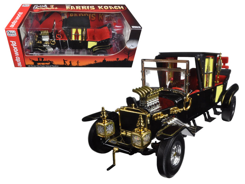 George Barris Munsters Koach 1/18 Diecast Model Car by Autoworld - BeTovi&co
