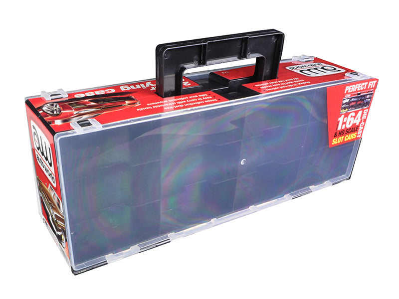 24 Cars Carry Display Case for 1/64 Scale Model Cars by Autoworld - BeTovi&co