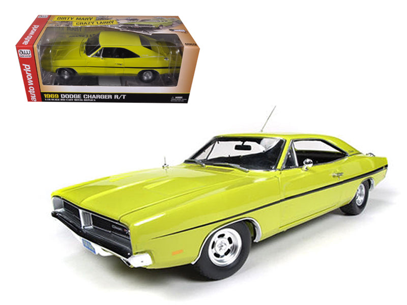 "1969 Dodge Charger R/T \Dirty Mary Crazy Larry"" Movie Limited to 2000pc 1/18 Diecast Car Model by Autoworld"" - BeTovi&co"