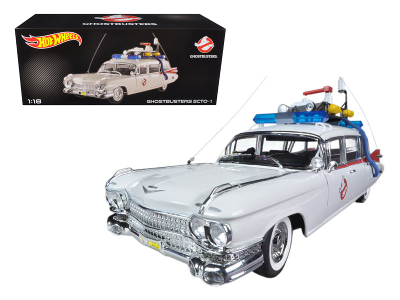 1959 Cadillac Ambulance Ecto-1 From Ghostbusters 1 Movie 1/18 - BeTovi&co