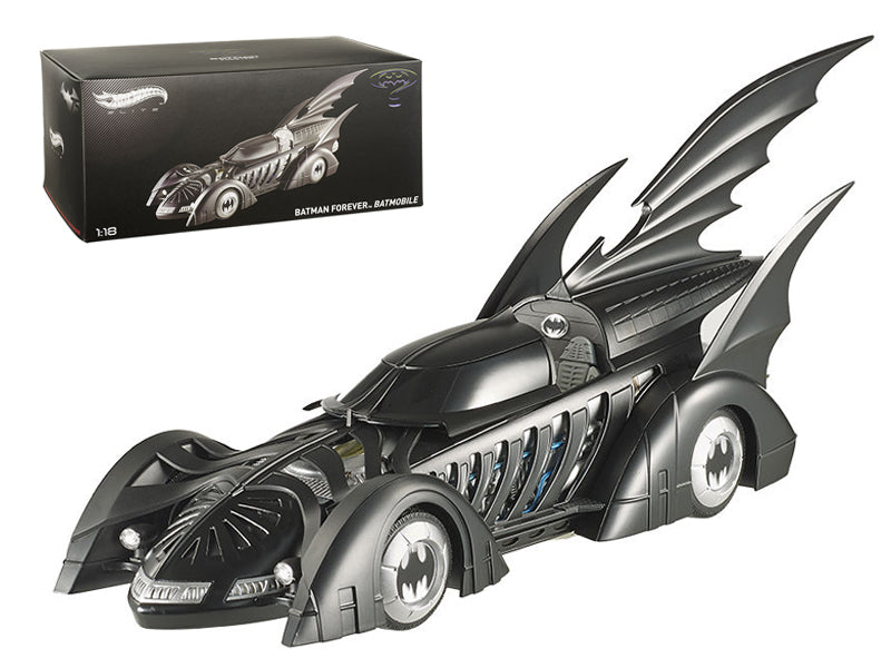 1995 Batman Forever Batmobile Elite Edition 1/18 Diecast Car Model by Hotwheels - BeTovi&co