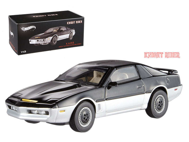 1982 Pontiac Firebird Trans Am K.A.R.R. Knight Automated Roving Robot Elite Edition 1/43 Diecast Model Car by Hotwheels - BeTovi&co