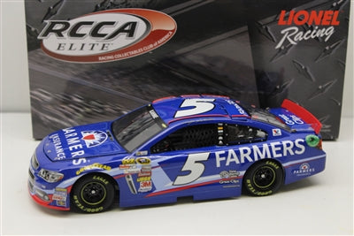 Kasey Kahne 2014 #5 Farmers Insurance 1:24 Elite Standard Finish NASCAR Diecast