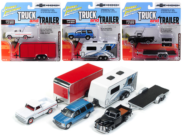 Truck and Trailer Series 2 Set B
