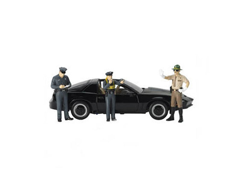 Safety Check 3pc Figure Police Set for 1/18 Scale Models by Motorhead Miniatures - BeTovi&co