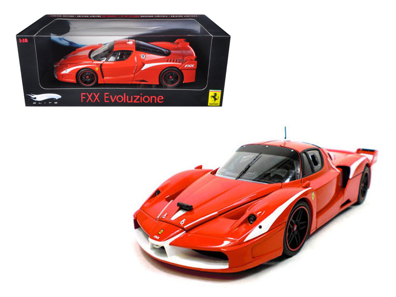 Ferrari FXX Evoluzione Red Elite Edition 1/18 Diecast Model Car by Hotwheels - BeTovi&co