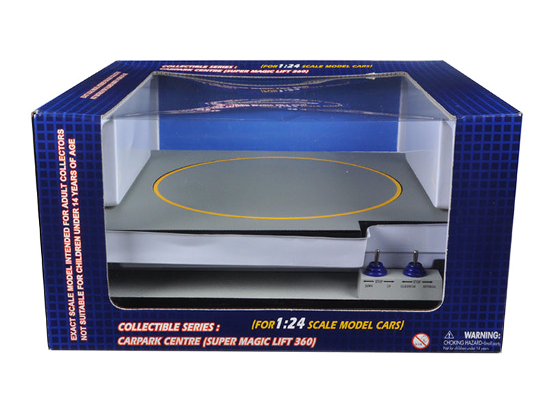 Battery Operated Car Lift For 1/24 Scale Cars Goes Up And Down Rotates Fits 3 Cars - BeTovi&co