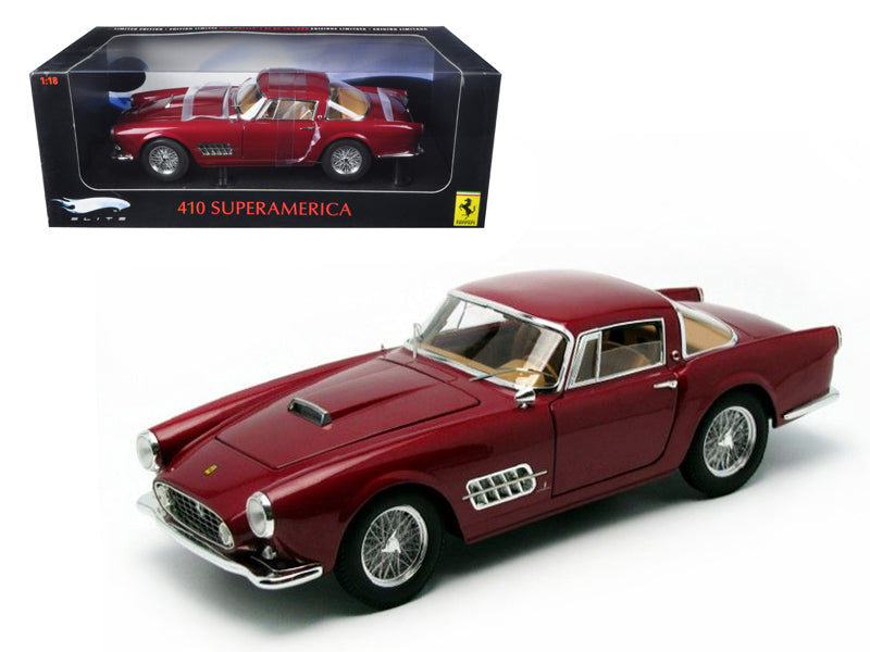 Ferrari 410 Superamerica Elite Edition 1/18 Diecast Model Car by Hotwheels - BeTovi&co