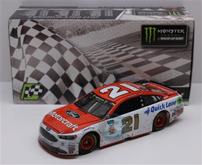 Ryan Blaney 2017 Motorcraft/Pocono First Win 1:24 Nascar Diecast