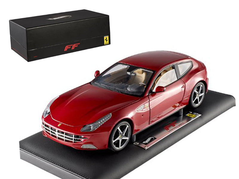 Super Elite Ferrari FF 1/18 Diecast Car Model by Hotwheels - BeTovi&co