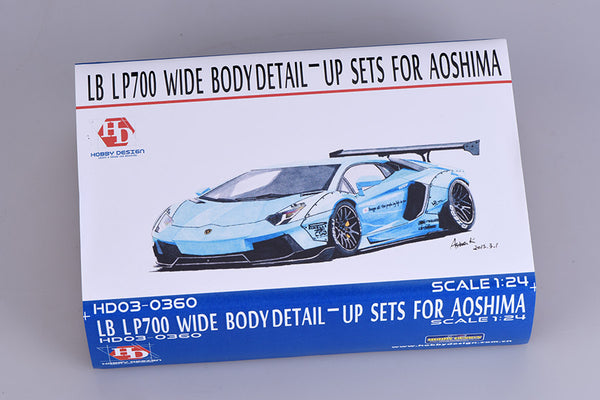 1/24 LB LP700 Wide Body