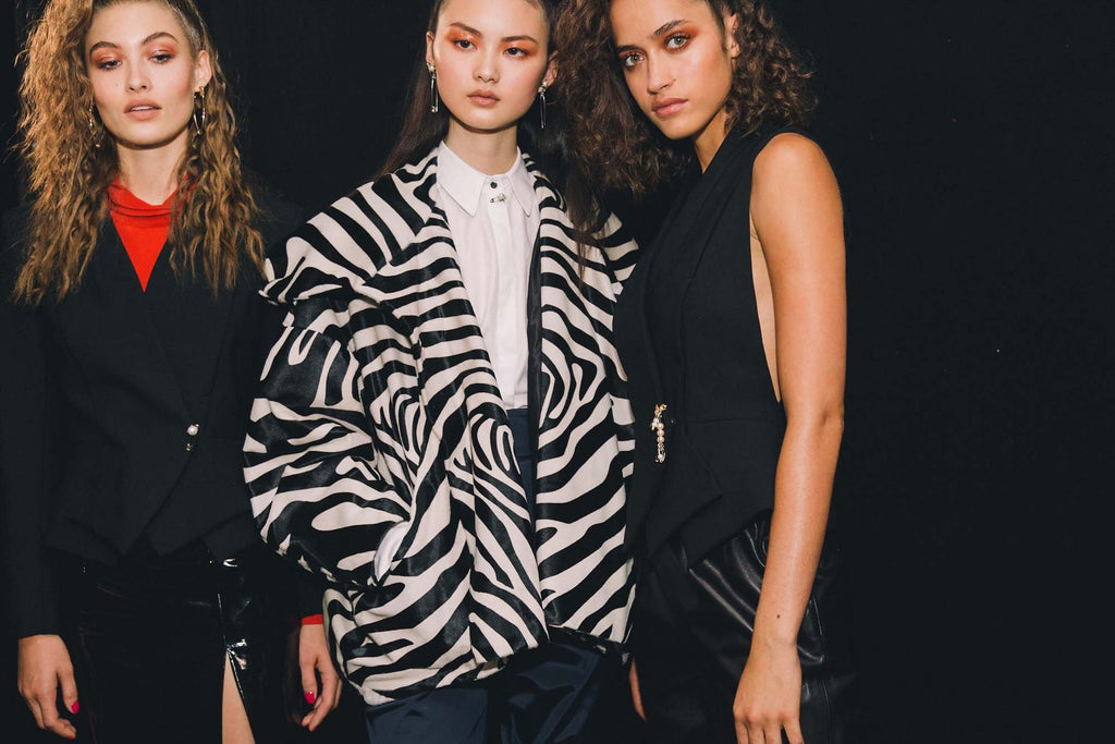 Slapp LFW Report Beauty Trends Topshop Unique SS17
