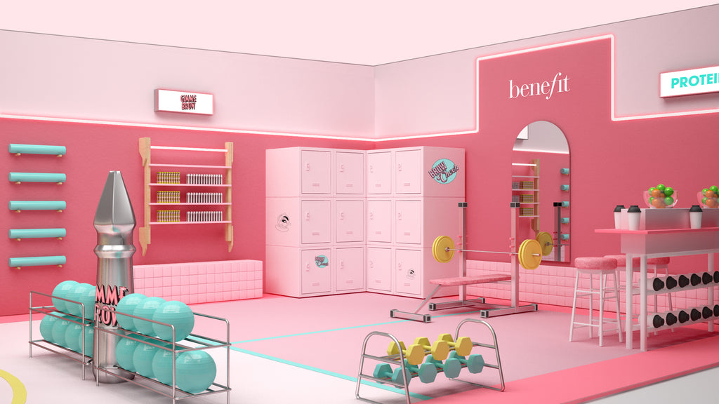Get BeneFIT at the new Anti Gym Pop-Up + WIN the New Palette with Slapp